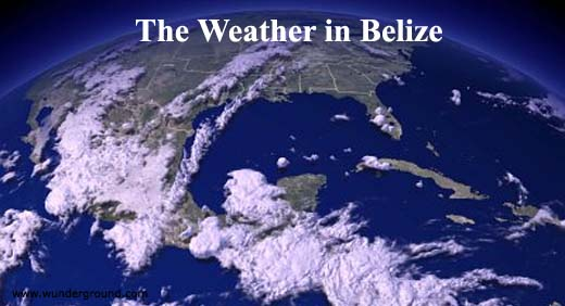 The weather in Belize