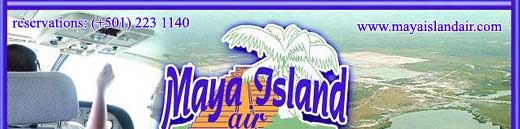 Maya Island Air - Your Airline in Belize