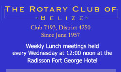 Rotary Club of Belize, District 4250