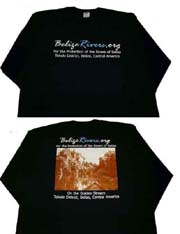 BelizeRivers.org Campfire T-shirt